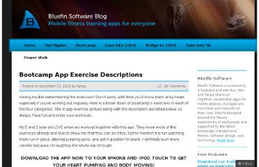 http://blog.bluefinapps.com/2010/12/15/bootcamp-app-exercise-descriptions/
