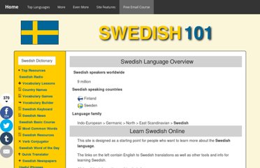 http://www.101languages.net/swedish/