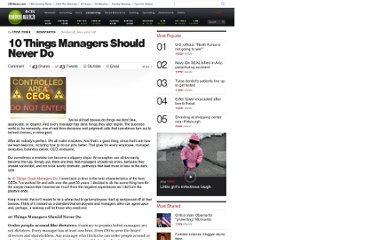 http://www.cbsnews.com/8301-505125_162-28248808/10-things-managers-should-never-do/