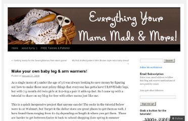 http://everythingyourmamamade.com/2008/01/21/make-your-own-baby-leg-warmers/