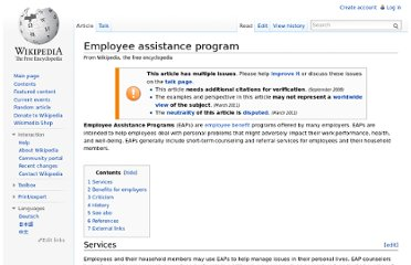 http://en.wikipedia.org/wiki/Employee_assistance_program