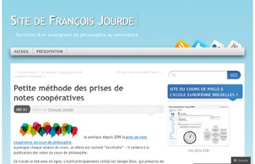 http://profjourde.wordpress.com/2011/12/01/petite-methode-des-prises-de-notes-collaboratives/