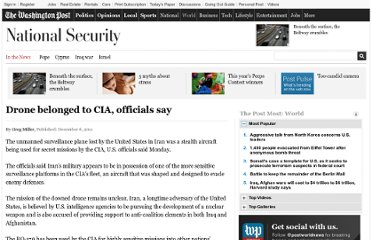http://www.washingtonpost.com/world/national-security/drone-belonged-to-cia-officials-say/2011/12/05/gIQAylYGYO_story.html