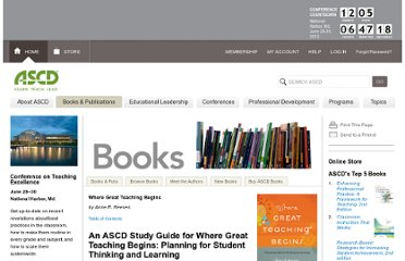 http://www.ascd.org/publications/books/111023/chapters/An-ASCD-Study-Guide-for-Where-Great-Teaching-Begins@-Planning-for-Student-Thinking-and-Learning.aspx