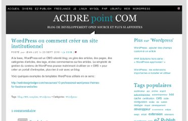 http://www.acidre.com/blog/wordpress-creer-site-institutionnel/