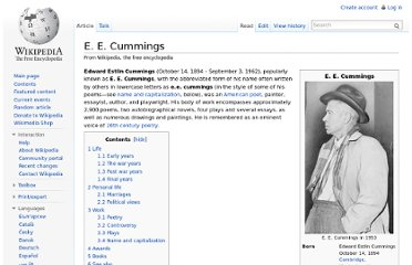 http://en.wikipedia.org/wiki/E._E._Cummings