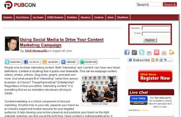 http://www.pubcon.com/using-social-media-to-drive-your-content-marketing-campaign