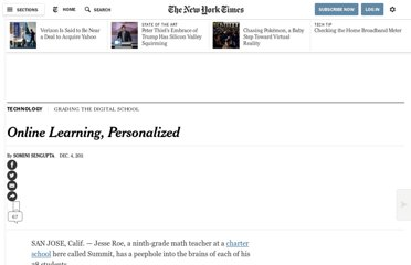 http://www.nytimes.com/2011/12/05/technology/khan-academy-blends-its-youtube-approach-with-classrooms.html