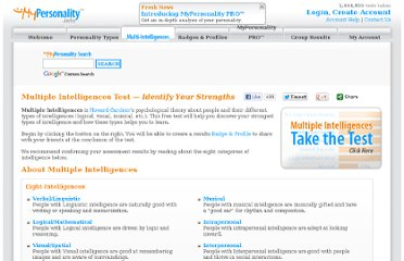 http://www.mypersonality.info/multiple-intelligences/
