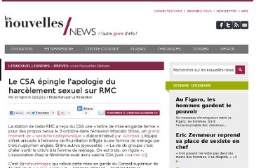 http://lesnouvellesnews.fr/index.php/breves/53-nouvelles-breves/1538-csa-epingle-apologie-du-harcelement-sexuel-sur-rmc