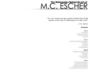 http://www.math.nus.edu.sg/aslaksen/gem-projects/maa/0203-2-03-Escher/main3.html