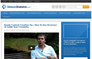 http://gideonshalwick.com/online-video-blogging-content-creation-tip/
