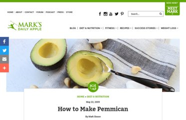 http://www.marksdailyapple.com/how-to-make-pemmican/