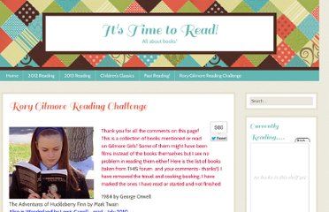 http://bookreviews.me.uk/rory-gilmore-reading-challenge/
