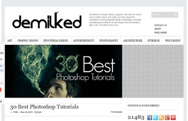 http://www.demilked.com/best-photoshop-tutorials/