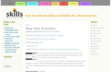 http://www.skillsworkshop.org/resources/new-year-activities
