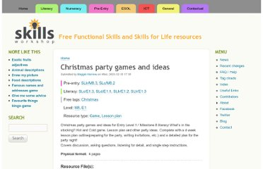 http://www.skillsworkshop.org/resources/christmas-party-games-and-ideas