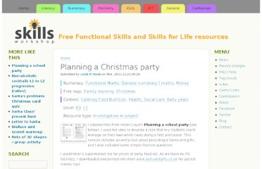 http://www.skillsworkshop.org/resources/planning-christmas-party