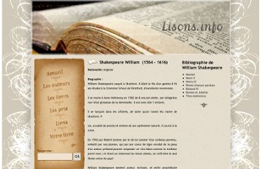 http://www.lisons.info/Shakespeare-William-auteur-71.php