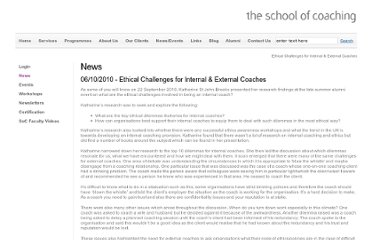 http://www.theschoolofcoaching.com/alumni-news/ethical-challenges-for-internal-external-coaches/