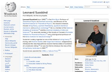 http://en.wikipedia.org/wiki/Leonard_Susskind#Modern_Physics:_The_Theoretical_Minimum