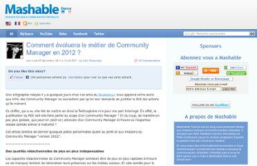 http://fr.mashable.com/2011/12/07/comment-evoluera-le-metier-de-community-manager-en-2012/