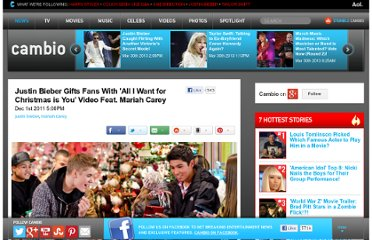 http://www.cambio.com/2011/12/01/justin-bieber-mariah-carey-all-i-want-for-christmas-is-you-video/