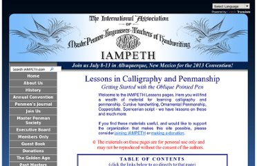 http://www.iampeth.com/lessons_getting_started.php