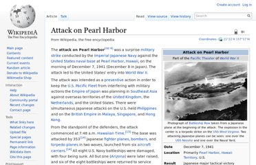 http://en.wikipedia.org/wiki/Attack_on_Pearl_Harbor