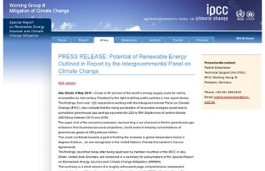 http://srren.ipcc-wg3.de/press/content/potential-of-renewable-energy-outlined-report-by-the-intergovernmental-panel-on-climate-change