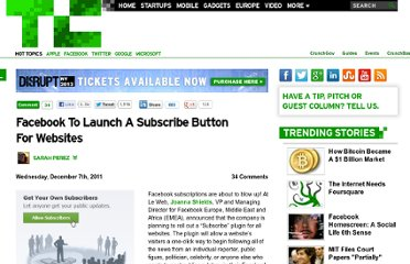 http://techcrunch.com/2011/12/07/facebook-to-launch-a-subscribe-button-for-websites/