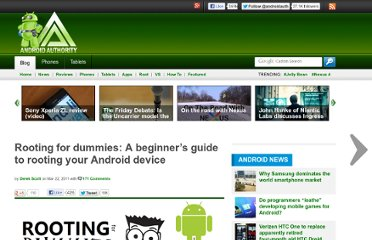 http://www.androidauthority.com/rooting-for-dummies-a-beginners-guide-to-root-your-android-phone-or-tablet-10915/