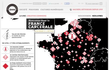 http://owni.fr/2011/12/07/prison-carte-surpopulation-carcerale-france/