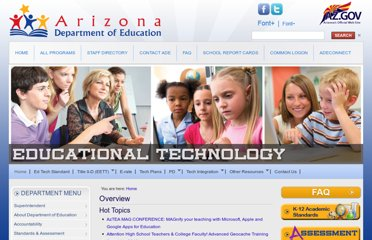 http://www.azed.gov/educational-technology/