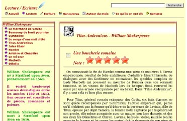 http://www.lecture-ecriture.com/2935-Titus-Andronicus-William-Shakespeare