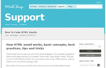 http://kb.mailchimp.com/article/how-to-code-html-emails