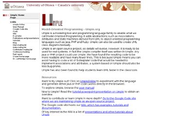http://cruise.site.uottawa.ca/umple/