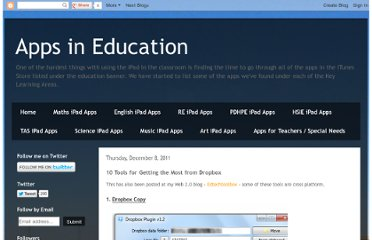 http://appsineducation.blogspot.com/2011/12/10-tools-for-getting-most-from-dropbox.html