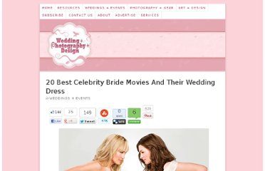http://weddingphotography.com.ph/7322/20-best-celebrity-bride-movies-wedding-dress/