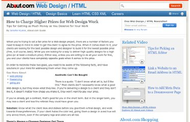 http://webdesign.about.com/od/pricing/a/charge-higher-prices.htm