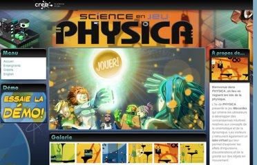 http://www.scienceenjeu.com/physica/index.php