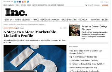 http://www.inc.com/jeff-haden/how-to-market-yourself-with-linkedin-profile-6-steps.html
