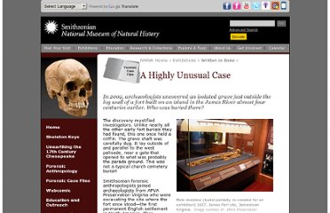 http://anthropology.si.edu/writteninbone/unusual_case.html