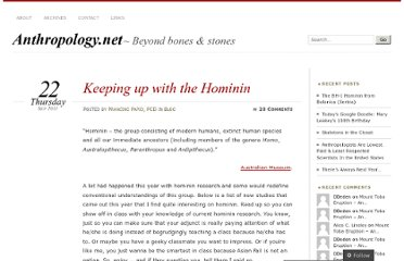 http://anthropology.net/2011/09/22/keeping-up-with-the-hominin/