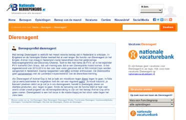 http://www.nationaleberoepengids.nl/Dierenagent