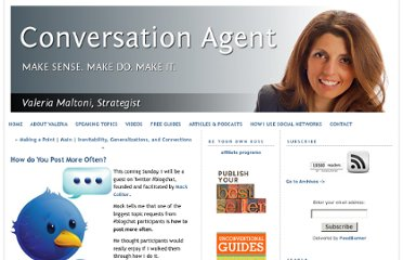 http://www.conversationagent.com/2011/12/how-to-post-more-often.html