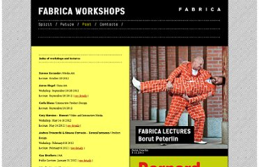 http://www.fabrica.it/workshops/past_index.html