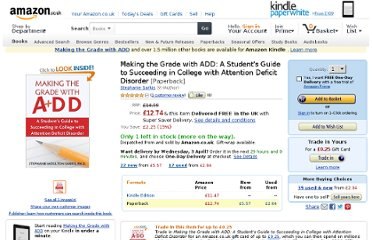 http://www.amazon.co.uk/Making-Grade-ADD-Succeeding-Attention/dp/1572245549