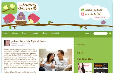 http://www.themomcrowd.com/30-ideas-for-a-date-night-at-home
