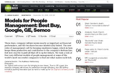 http://www.cbsnews.com/8301-505125_162-51237201/models-for-people-management-best-buy-google-ge-semco/